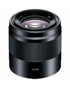 Sony E 50mm /1.8 OSS Zwart (SEL50F18B)
