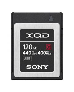 Sony QD-G120F XQD Kaart 120GB 440 MB/s G-serie