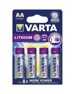 Varta Lithium AA Blister (4x)
