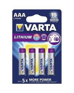 Varta Lithium AAA Blister (4x)