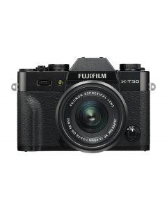FUJIFILM X-T30 + XC 15-45mm /3.5-5.6 OIS Zwart