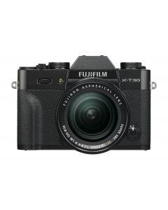 FUJIFILM X-T30 + XF 18-55mm /2.8-4 R LM OIS Zwart