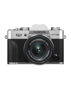 FUJIFILM X-T30 + XC 15-45mm /3.5-5.6 OIS Zilver