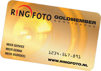 Ringfoto Goldmember - 5 jaar garantie